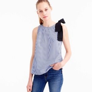 J. Crew - Top with bow